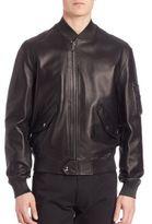 Ralph Lauren Purple Label Airman Bomber Jacket