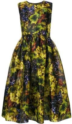 Dolce & Gabbana grapes print dress