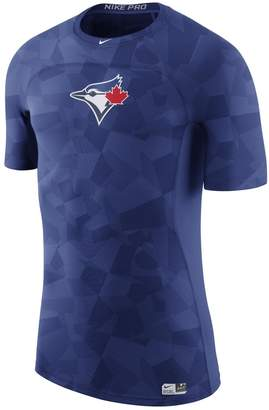 Nike Men's Royal Toronto Blue Jays Authentic Collection Pro Hypercool Performance T-Shirt