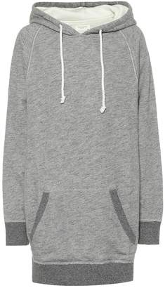 Rag & Bone Racer cotton hoodie dress