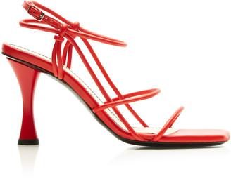 Proenza Schouler Leather Heeled Sandals
