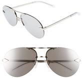 Karen Walker Women's Love Hangover 60Mm Aviator Sunglasses - Silver/ Clear