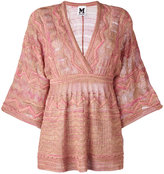 M Missoni flared shift blouse - women - Polyamide/Viscose/Metallic Fibre - 46
