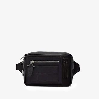 Neil Barrett Tech Cotton Waist Bag (Black) Bags