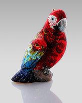 Judith Leiber Scarlet Parrot Minaudier
