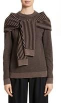 Isa Arfen Women's Trompe L'Oeil Sweater