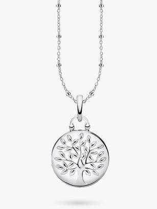 Thomas Sabo Glam & Soul Tree of Love Locket Pendant Necklace, Silver