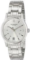Victorinox Women's 241539 Alliance Analog Display Swiss Quartz Silver-Tone Watch