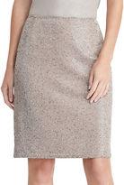 Lauren Ralph Lauren Beaded Pencil Skirt