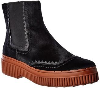 Tod's Chelsea Haircalf Boot