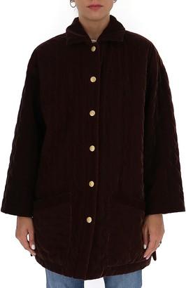 L'Autre Chose Quilted Buttoned Jacket