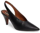 Topshop Women's Jemma Slingback Pointy-Toe Pump