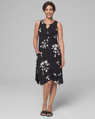 Soma Intimates Handkerchief Dress with Built-In Shelf Bra