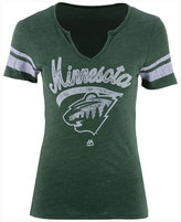 Majestic Women's Minnesota Wild Tag Up T-Shirt