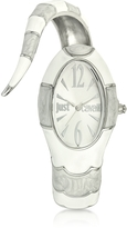Just Cavalli Poison Jc 3H Silver Dial Stainless Steel Women's Watch