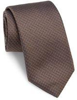 Pal Zileri Honeycomb Silk Tie