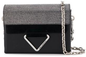 Karl Lagerfeld Paris Vektor flap minaudiere cross-body bag