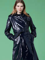 Diane von Furstenberg Leather Trench