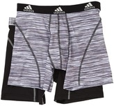 adidas Sport Performance Climalite Graphic 2-Pack Boxer Brief Men's Underwear
