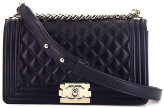Chanel Pre Owned Boy Chanel shoulder bag