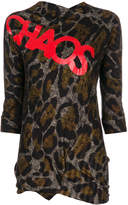 Vivienne Westwood Accident leopard print top