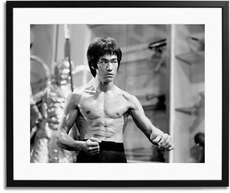 Sonic Editions Bruce Lee 1970 Framed Photo
