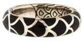 John Hardy Naga Enamel Band Ring