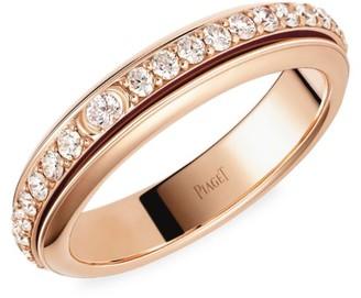 Piaget Possession 18K Rose Gold & Diamond Eternity Ring