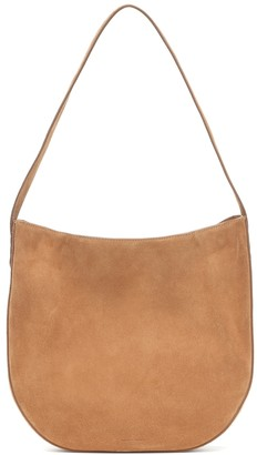 Mansur Gavriel Folded Hobo suede shoulder bag