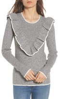 Hinge Women's Ruffle Sweater