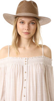 Thumbnail for your product : Janessa Leone Packable Adriana Short Brimmed Fedora