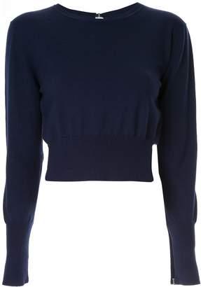 Dion Lee lingerie hook sweater