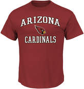 Majestic Big & Tall Arizona Cardinals Heart & Soul Tee