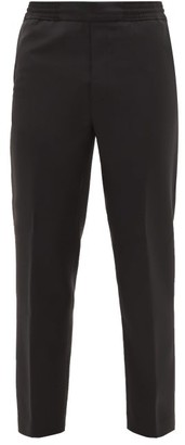 Acne Studios Pismo Wool-blend Trousers - Black