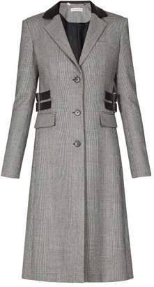 Altuzarra Annie Single-breasted Prince Of Wales-check Coat - Womens - Grey Multi