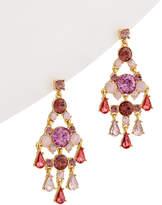 Carolee Spring Bouquet Drama Chandelier Earrings