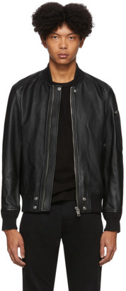 Diesel Black Leather L-Jospeh Jacket