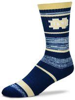 For Bare Feet Adult Notre Dame Fighting Irish RMC Stripe Crew Socks