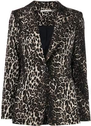 Alice + Olivia Alice+Olivia Tobby leopard blazer