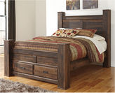 Signature Design by Ashley Quinden Storage Bed
