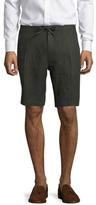 Saks Fifth Avenue Solid Drawstring Linen Shorts