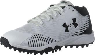 Under Armour Women's Finisher Turf Lacrosse Shoe White (100)/Black 5.5