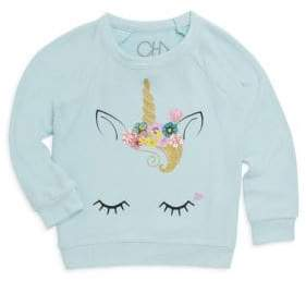 Chaser Little Girl's Cat Ear Sweatshirt