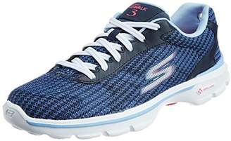 Skechers Go Walk 3 Fitknit, Women Hi-Top Sneakers