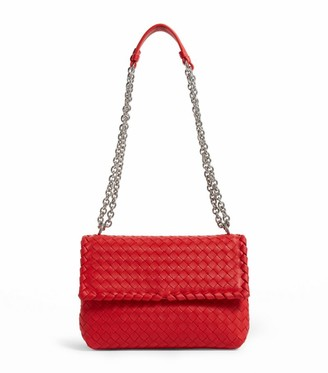 Bottega Veneta Small Leather Olimpia Shoulder Bag