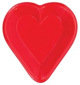 Card Night Mini Heart Snack Tray