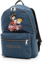 Dolce & Gabbana Nylon Backpack With Patch