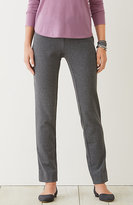 J. Jill Ponte Knit Houndstooth Pants