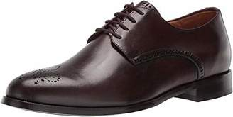 Marc Joseph New York Men's Leather Oxford Lace-Up Wingtip Dress Shoe