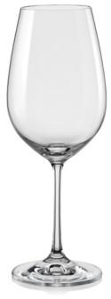 Red Vanilla Viola All Purpose Wine Glass 15.25 Oz, Set of 12